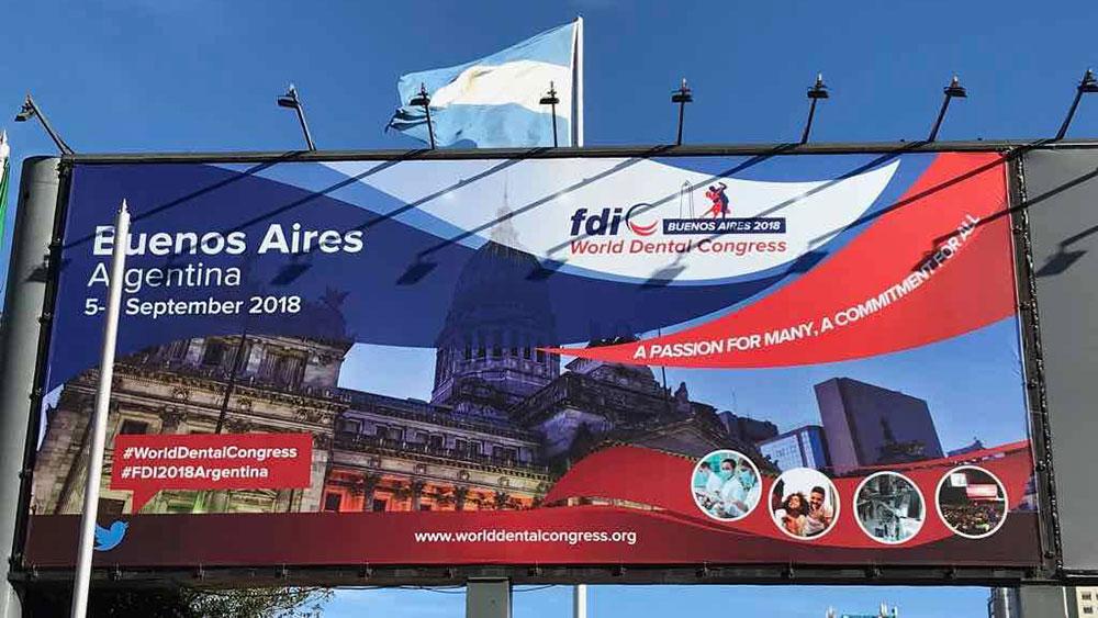 FDI 世界会議2018 アルゼンチンの画像です