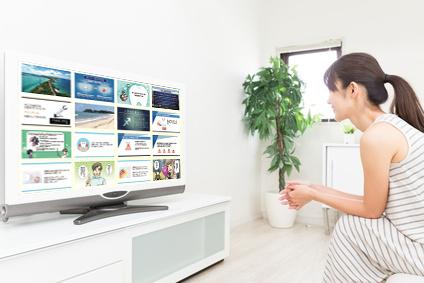 待合室のテレビ 活用できていますか?