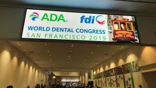 ADA FDI 世界⻭科会議 2019 レポートの画像です