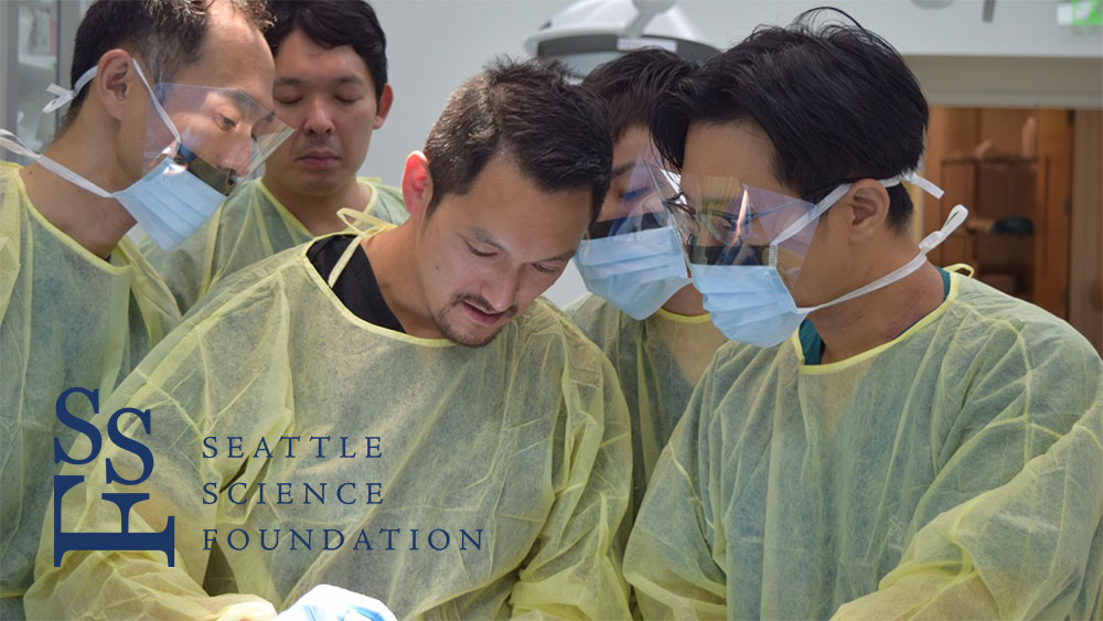 「Japan Dental Training 2018 全ての歯科医師のための臨床解剖学に基づいたカダバートレーニングコース in Seattle」を終えての画像です