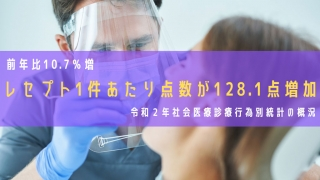 令和2年社会医療診療行為別統計の概況を発表 厚労省の画像です
