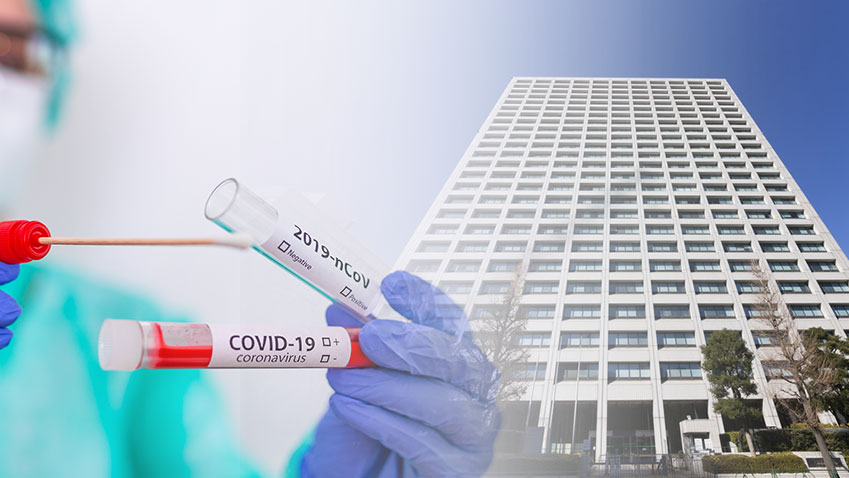 PCR検査 歯科医師も検体採取対応へ 厚生労働省の画像です