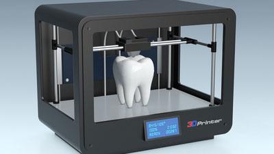 3Dプリンターの歯科医療への適用予測