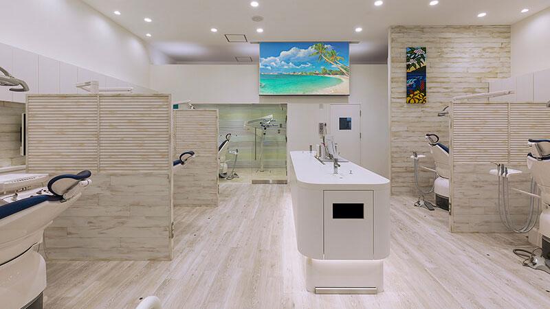 style-Hのクリニックデザイン  Case #1 湘南の風を感じる診療空間の画像です