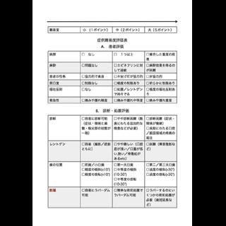 AAE難易度評価表(和訳版)の画像です