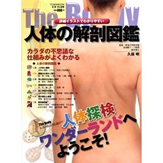 人体の解剖図鑑―詳細イラストでわかりやすい の画像です