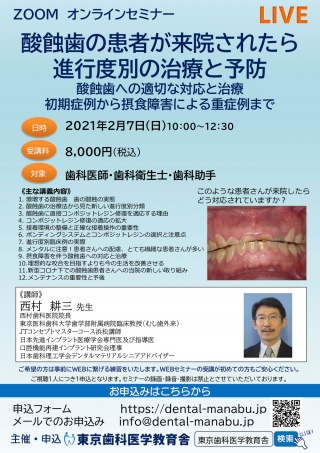 酸蝕歯の患者が来院されたら進行度別の治療と予防の画像です