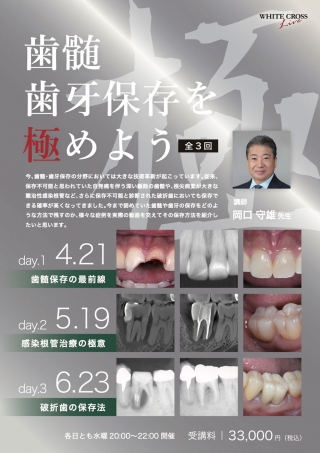 [Live]歯髄・歯牙保存を極めようの画像です