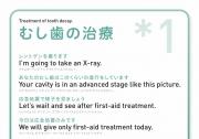 [英語]むし歯の治療*1の画像です