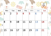 5月のカレンダー
