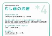 [英語]むし歯の治療*4の画像です