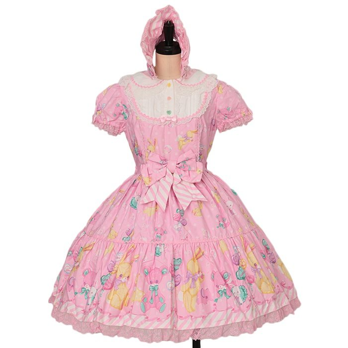 TOY FANTASY ワンピース+ボンネット+靴下セット Angelic Pretty| アンジェリックプリティ