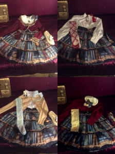 Large Lolita wardrobe = more outfits