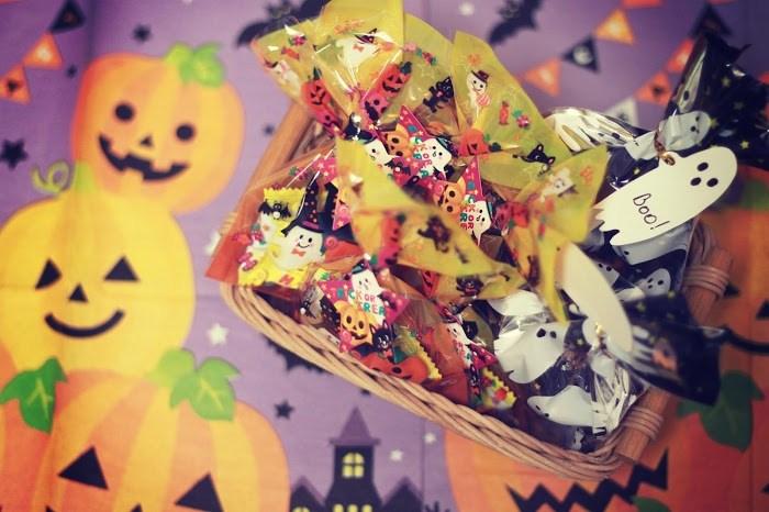 ハロウィンのお菓子を手作りしちゃいましょう!