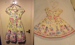 Angelic Pretty Merry Making Party OP (yellow) from my wardrobe post