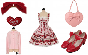 Valentine's Day Lolita Meetup Coordinate