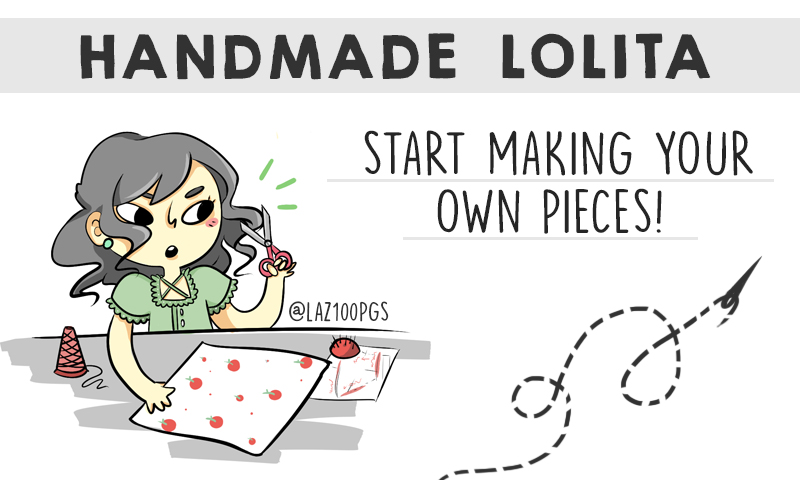 Handmade Lolita How To Start Sewing Your Own Clothes Wunderwelt Libre English