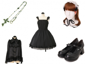 Gothic Easter coord