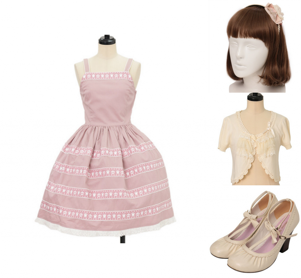 summer coord for Classic lolita