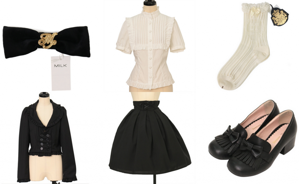 Lolita school uniform