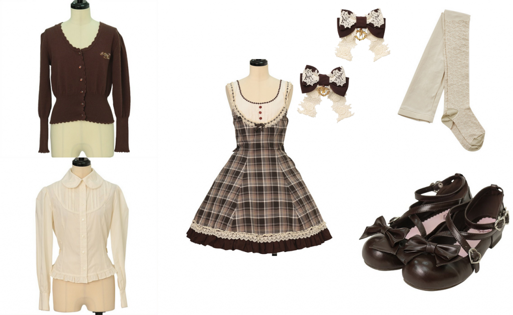 School-appropriate lolita coord