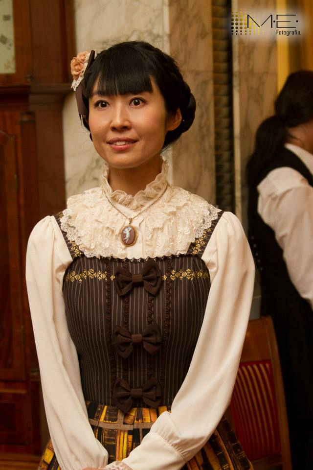 Innocent World's designer, Yumi Fujihara