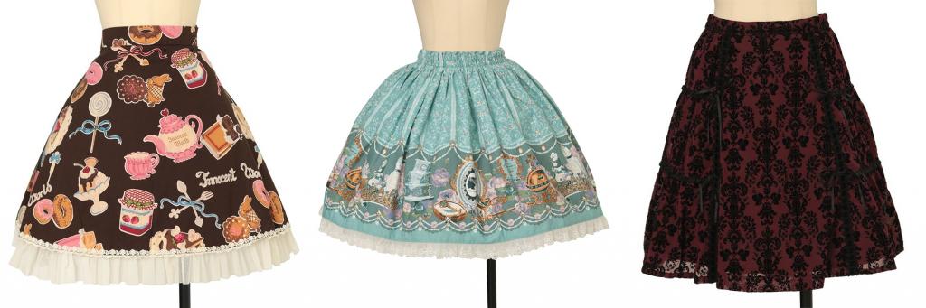 skirt shapes
