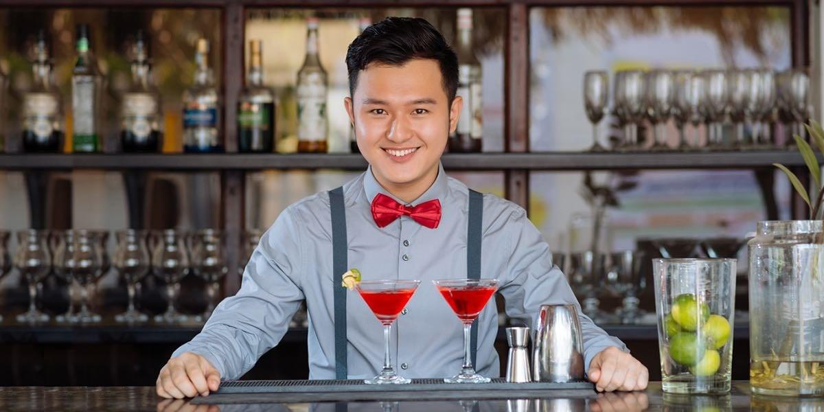 調酒師的專業服務