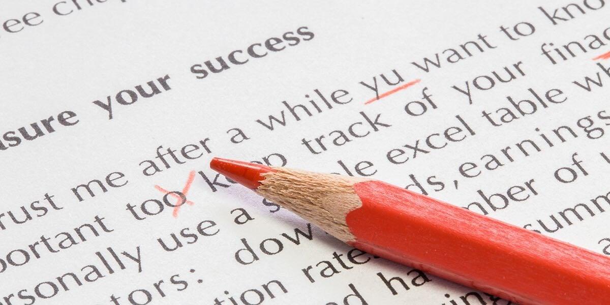 校稿及文字編輯的專業服務