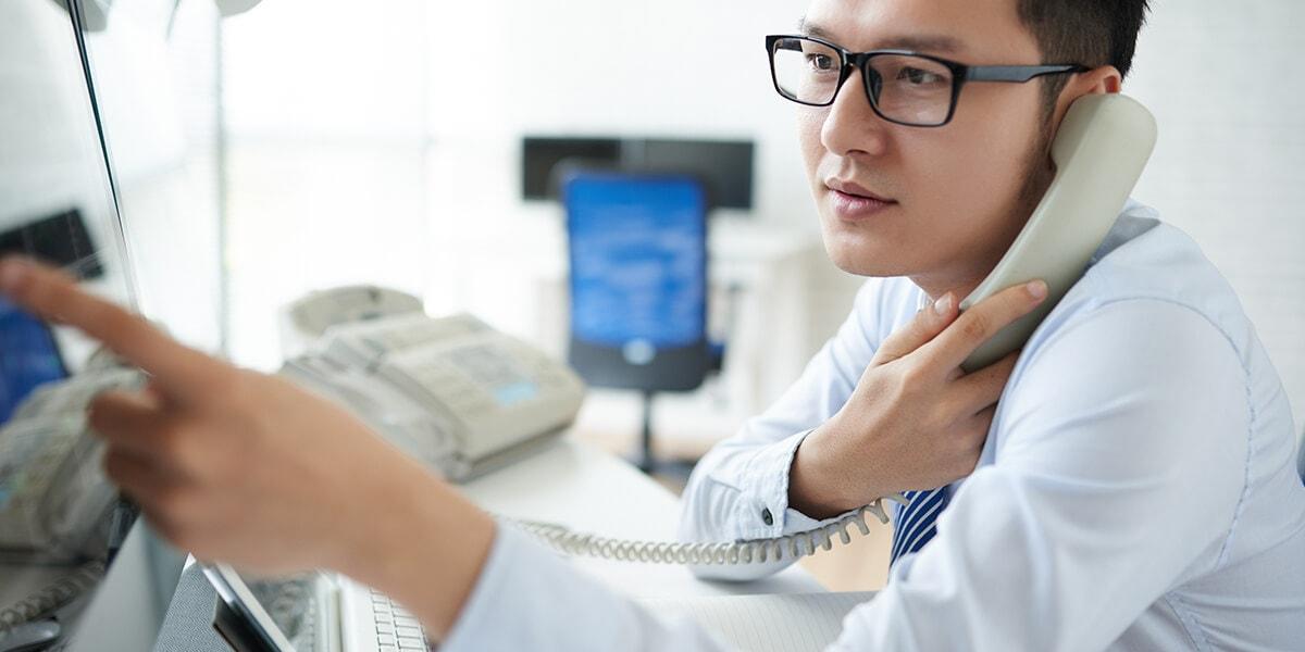 電話行銷員的專業服務