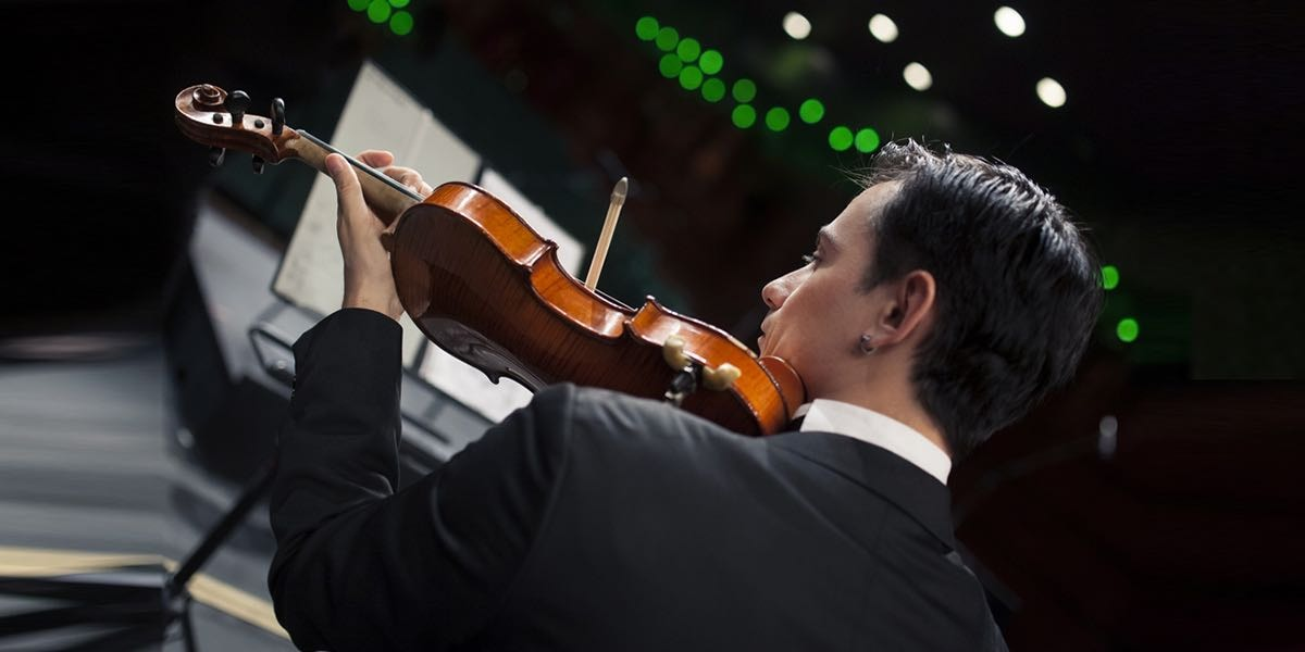 小提琴表演的專業服務