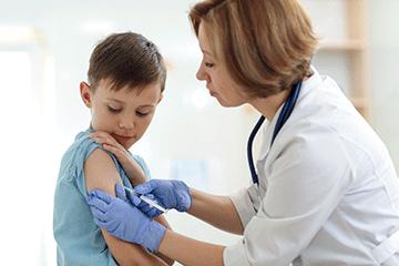 イメージ:海外では男の子にも接種