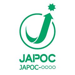認証マーク(JAPOCマーク)の例