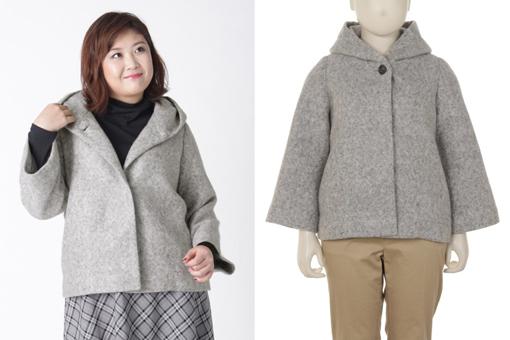 ぽっちゃりさんの冬コーデ コート