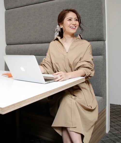 シャツワンピ(長袖、半袖どちらでもOK) ぽっちゃりさんにおすすめのオフィスカジュアル