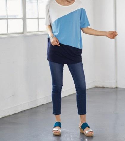 Tシャツ×パンツコーデの場合 ぽっちゃりさんにおすすめのTシャツコーデのコツ