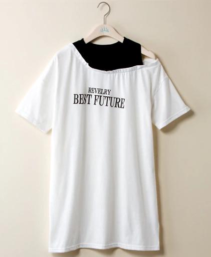 袖のデザインを踏まえる_02 ぽっちゃりさんにおすすめのTシャツコーデのコツ