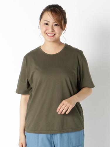 通気性の良い天竺素材Tシャツ