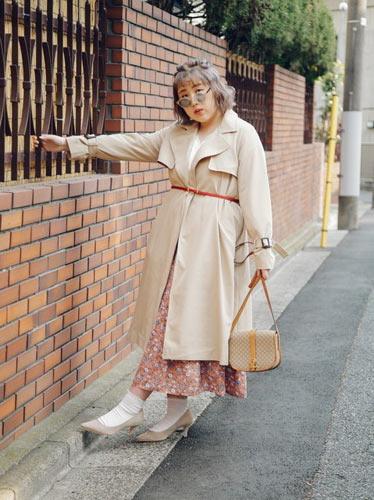靴下を履く時はできるだけヒールのある靴を合わせる ぽっちゃり大人女子の靴下コーデ