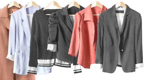 コンプレックス別ぽっちゃりさんに似合うジャケットの選び方