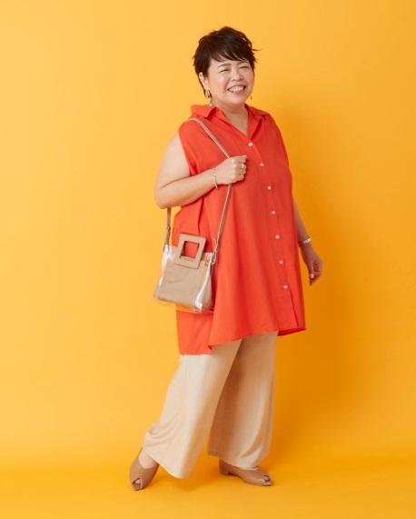 ぽっちゃりさんの初夏〜夏の着やせトップスは「デコルテ見せ」で!02