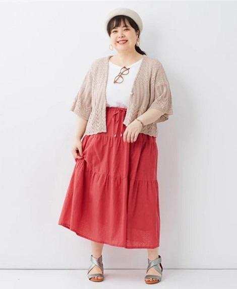 ぽっちゃりさんの初夏〜夏の着やせボトムスは「メリハリ」が大切05