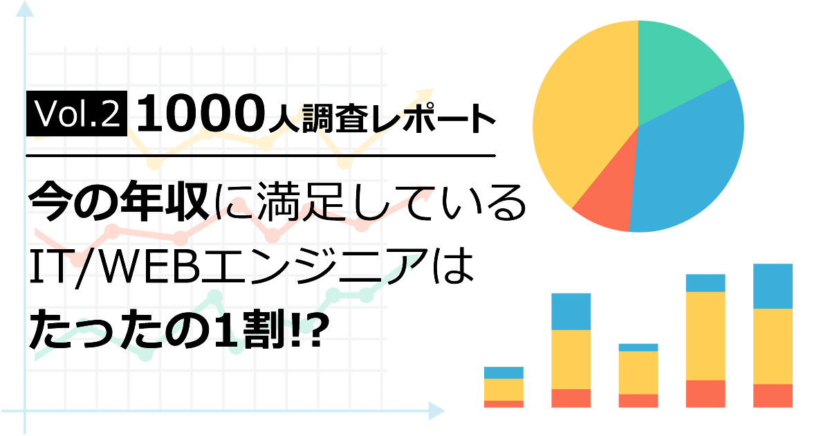 IT/Webエンジニア1000人調査レポート Vol.2
