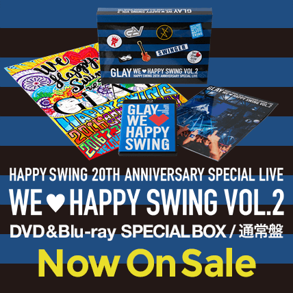 HAPPY SWING 20th Anniversary SPECIAL LIVE~We♡Happy Swing~ Vol.2