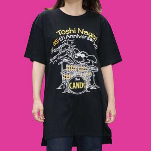 トシの年金問題Tシャツ(黒)