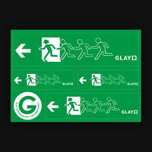 GLAY口ステッカー