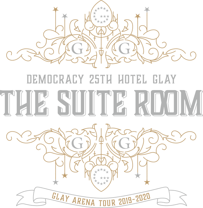 GLAY ARENA TOUR 2019-2020 DEMOCRACY 25TH HOTEL GLAY THE SUITE ROOM official GOODS