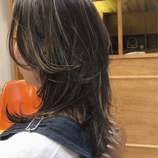 マッシュウルフ ネオウルフ ナチュラル ウルフカット ヘアスタイルや髪型の写真・画像