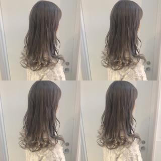大人かわいい オルチャン ナチュラル ロング ヘアスタイルや髪型の写真・画像