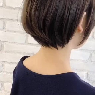大人女子 似合わせ エフォートレス ショート ヘアスタイルや髪型の写真・画像 ヘアスタイルや髪型の写真・画像